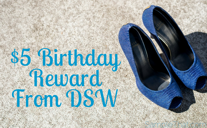 $5 Birthday Reward From DSW