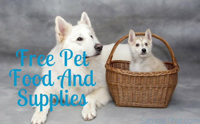 Free Pet Food And Supplies