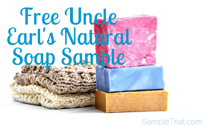 Free Uncle Earl's Natural Soap Sample