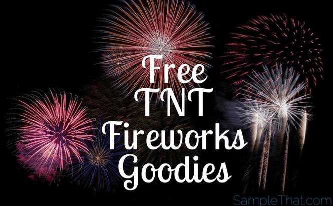 Free TNT Fireworks Goodies
