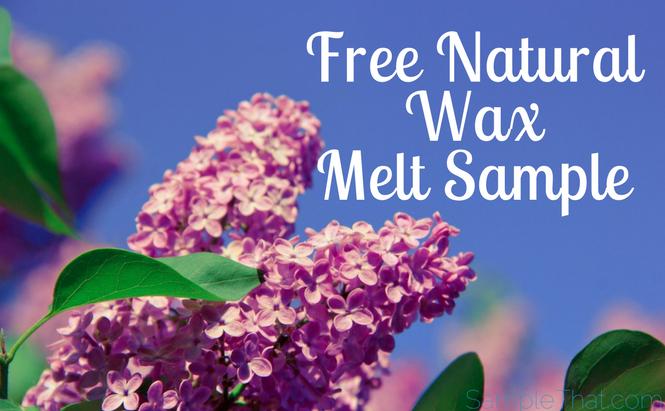 Free Natural Wax Melt Sample