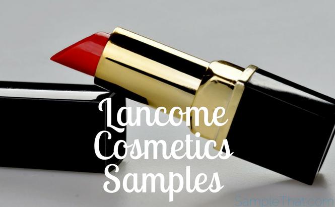 Lancome Cosmetics Samples