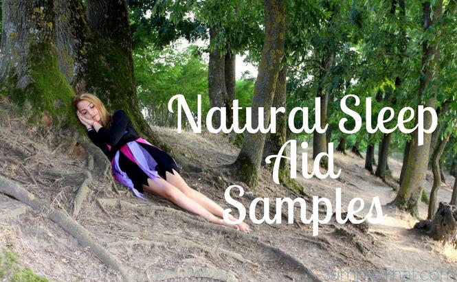 Free Natural Sleep Aid Sample