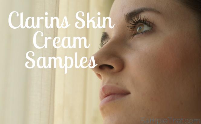 Free Clarins Face Cream Sample