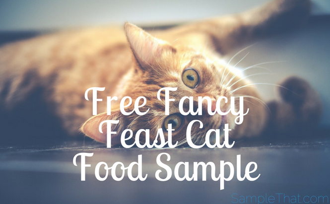 Free Fancy Feast Cat Food Sample