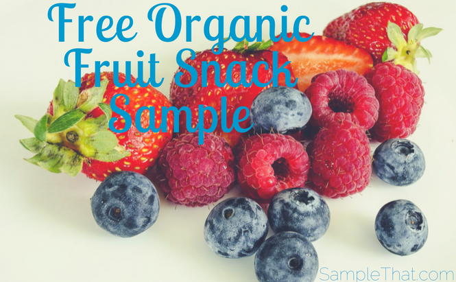 Free Fruit Snacks Sample
