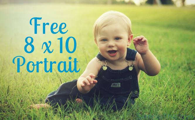 Free 8 X 10 Portrait From Picture People