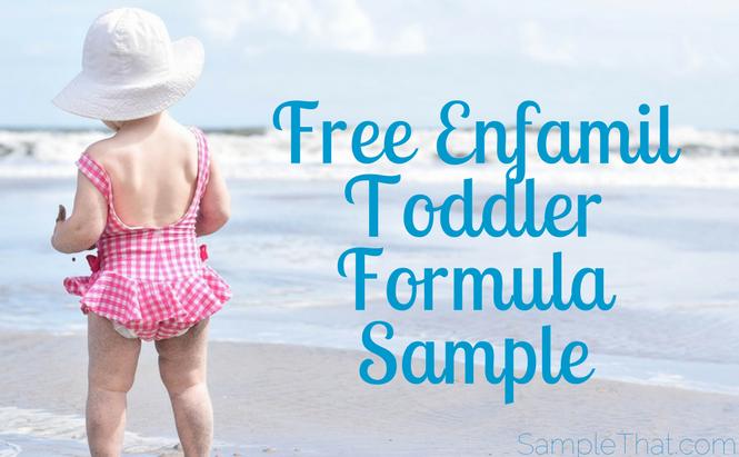 Free Enfamil Toddler Formula