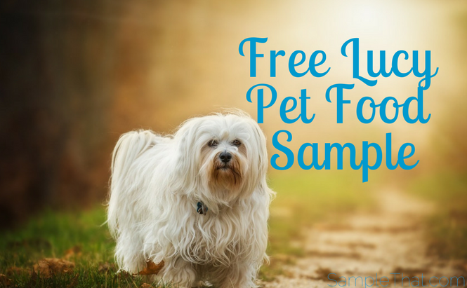 Free Lucy Pet Food Sample