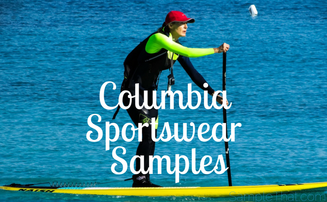 Columbia Sportswear Samples