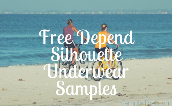 Free Depend Silhouette Underwear Samples