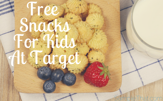 Free Snack For Kids At Target
