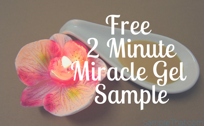 Free 2 Minute Miracle Gel Sample
