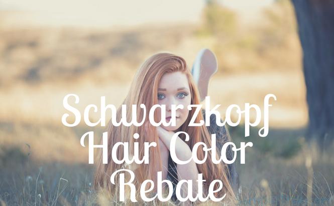 Schwarzkopf Hair Color Rebate