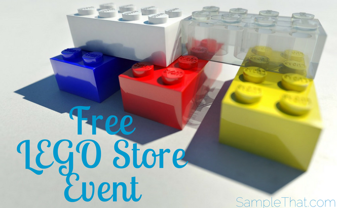 Free LEGO Store Event