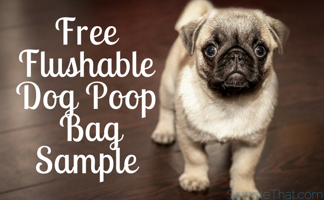 Free Flushable Dog Poop Bag Sample