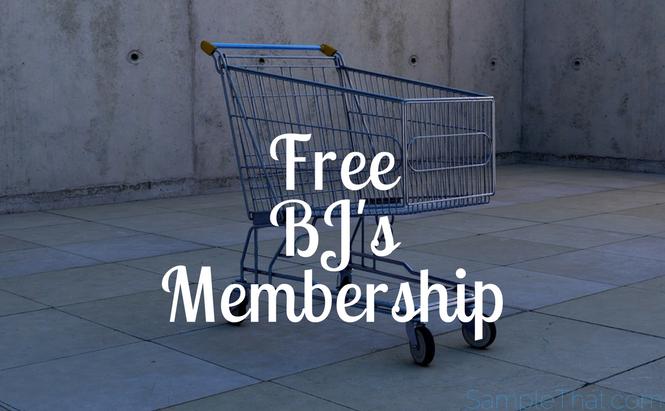 Free BJ's Membership