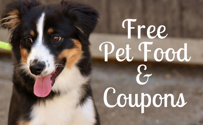 Free Pet Food & Coupons