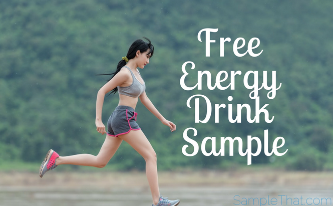 Free Energy Drink Sample