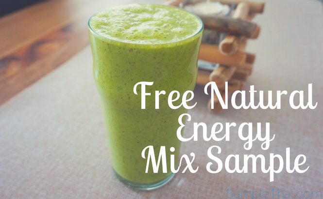 Free Natural Energy Mix Sample