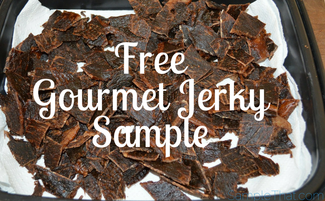 Free Gourmet Jerky Sample