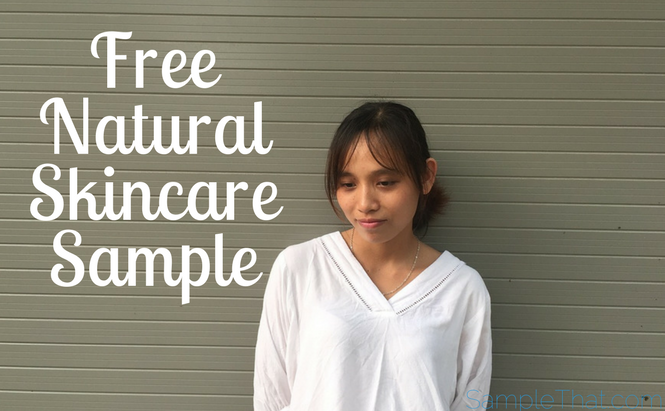 Free Natural Skincare Sample