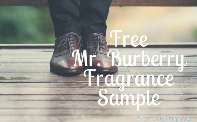 Free Mr. Burberry Fragrance Sample
