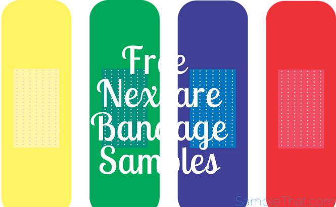 Free Nexcare Bandage Samples