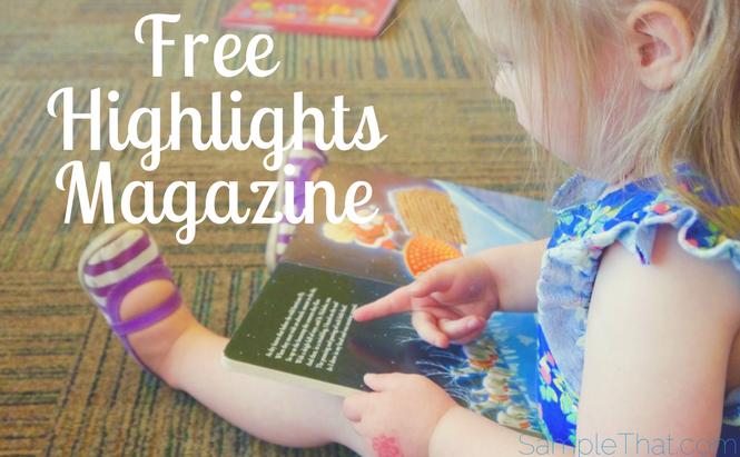 "Free ""Highlights"" Magazine"