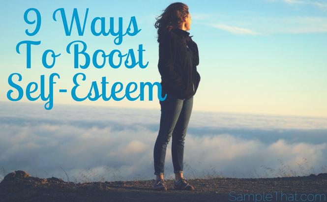 9 Ways To Boost Your Self-Esteem