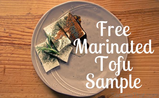 Free Marinated Tofu Sample