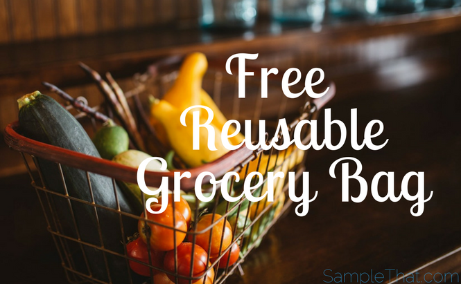 Free Reusable Grocery Bag From Jolly Time