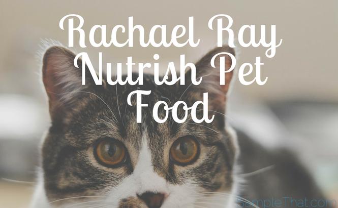 Rachael Ray Nutrish Pet Food