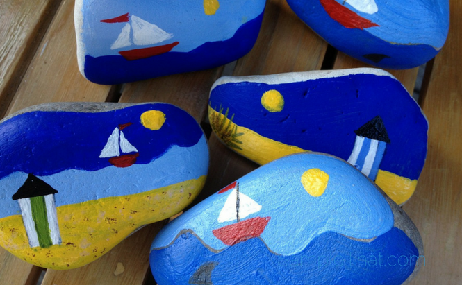 Free Rock Painting Activity At Michael's