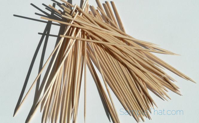 Free Toothpick Sample