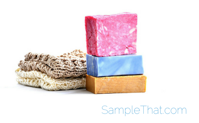 Free Handmade Soap Sample