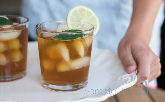 Free Cold Brew Tea Samples from Southern Breeze