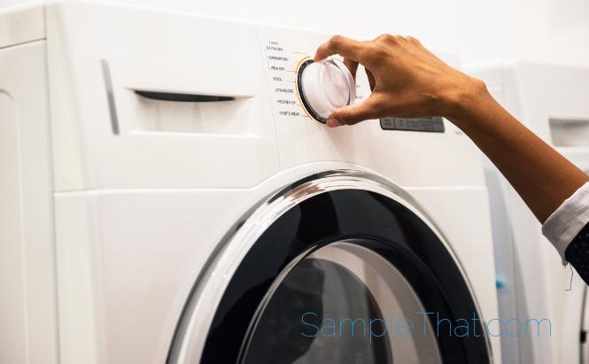 Natural Laundry Soap Sample