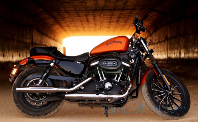 Free Harley-Davidson Sticker